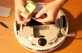 как чистить робот пылесос